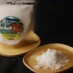 2020年海水透明度日本一に輝いた井田の海でつくる自然海塩