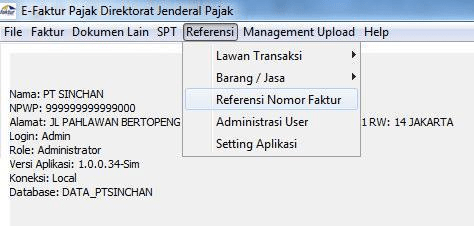 Import Transaksi ACCURATE ke E-Faktur 13