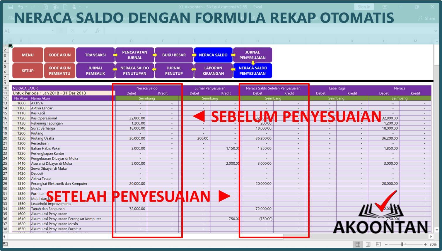Aplikasi Siklus Akuntansi