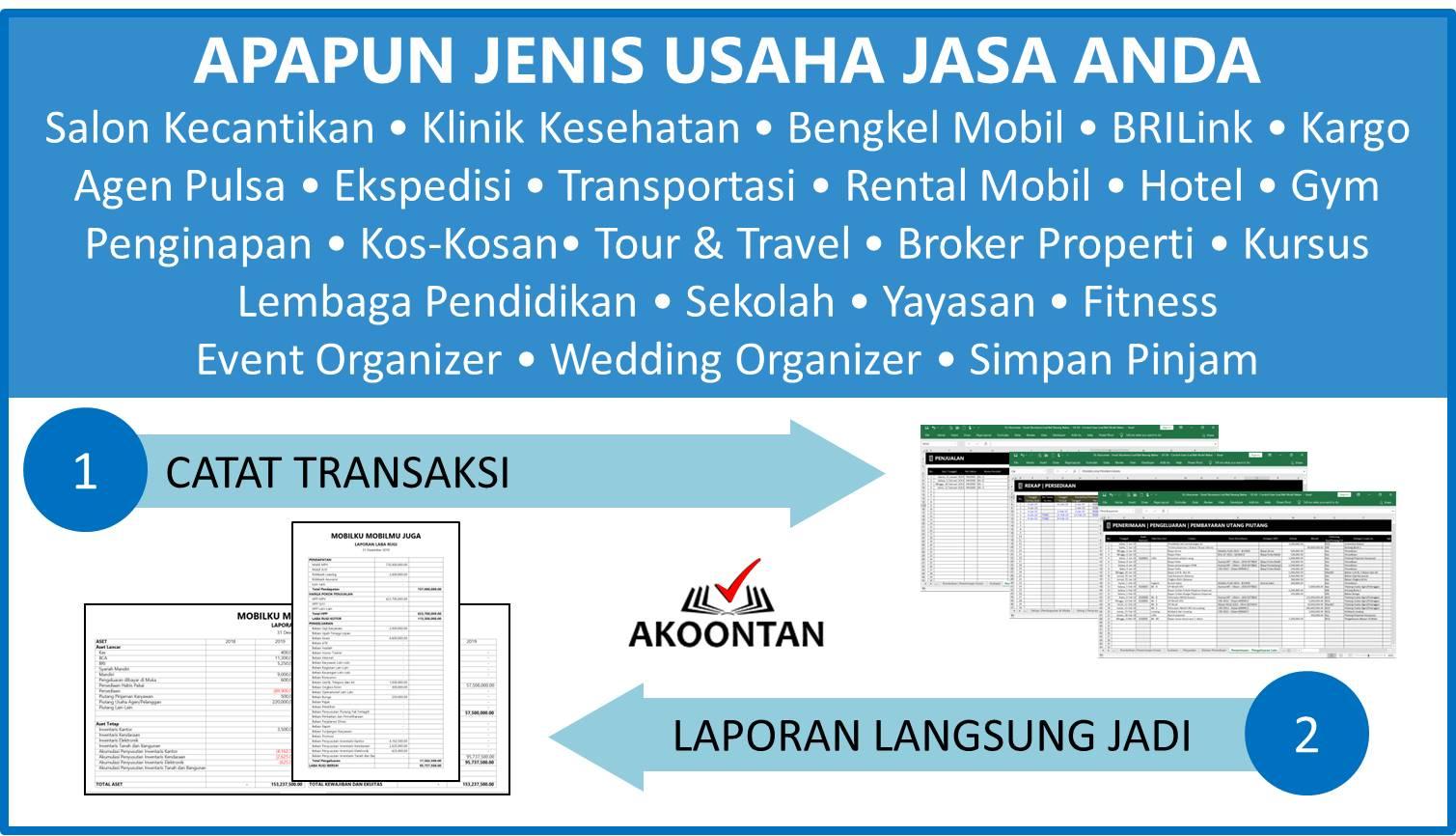 Aplikasi Akuntansi Awam Untuk Perusahaan Jasa