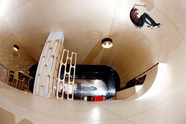 Rumah Skateboard, Amerika.