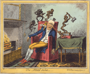 Cruikshank_- The head ache