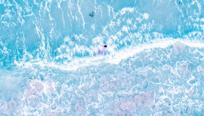 Pantai Trikora dengan sedikit touch