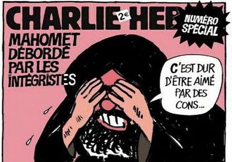 "Ilustracija: ""Charlie Hebdo"""