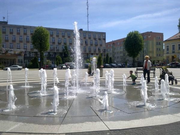 fontanna miejska zachodniopomorskie