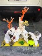 Проектируем декорации из камней и кораллов