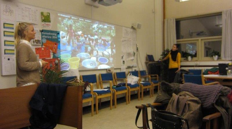 Chatrine og Simone holder oplæg om deres erfaringer fra 4 Mrd. ophold i Ghana - Akwamu
