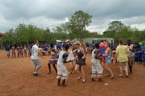 Tømmerrup fri-og efterskole i Akwamufie 2013