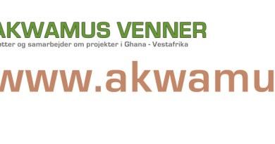Banner Akwamus Venner - Ghana/Norden