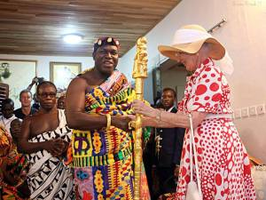 Odeneho-Kwafo-Akoto-III-Akwamumanhene-and-the-Queen-of-Denmark