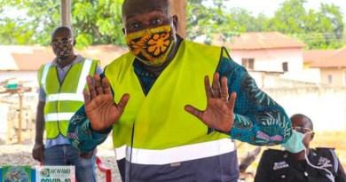 Samuel fortæller om Covid-situationen i Ghana