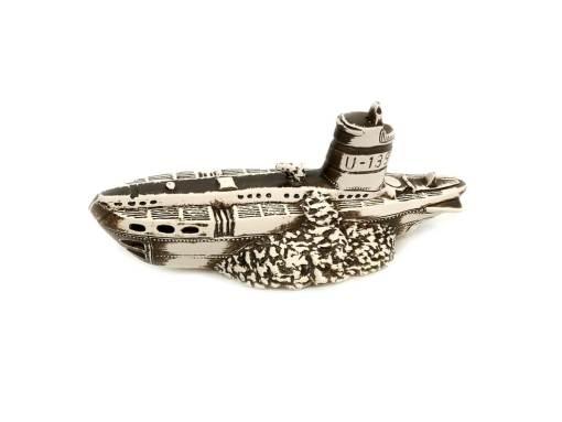 Ozdoba do akwarium, wrak niemieckiego okrętu podwodnego U-Boot