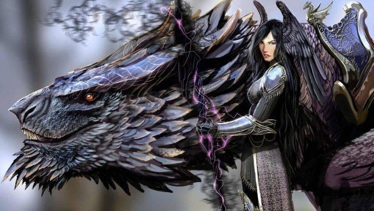 Savant and her warrior phantom