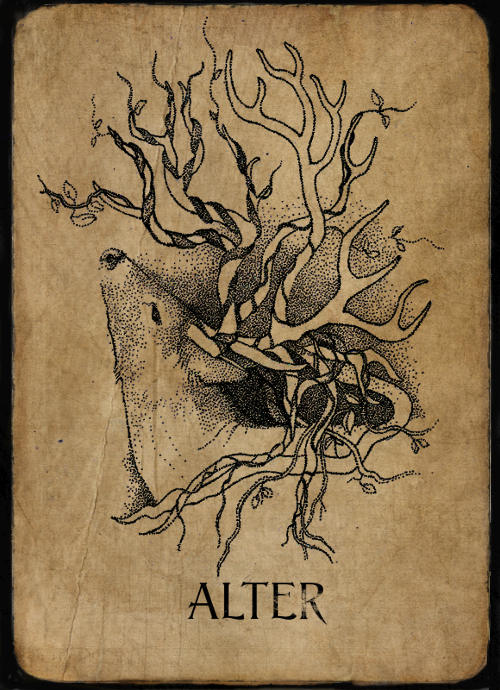 Alter Phantom by Anna Campbell Art