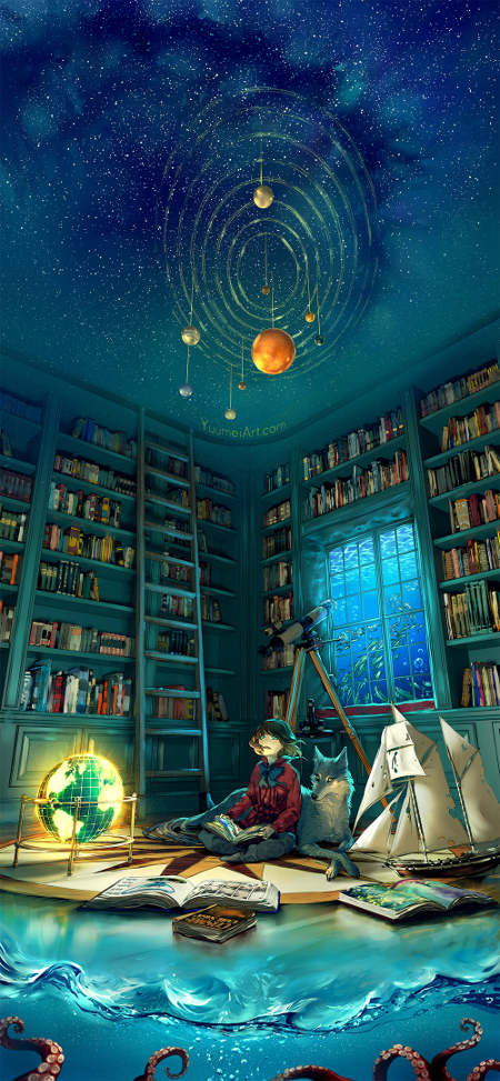 Boundless Books Anime Art