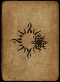Throw the Bones Cards - Twin Suns