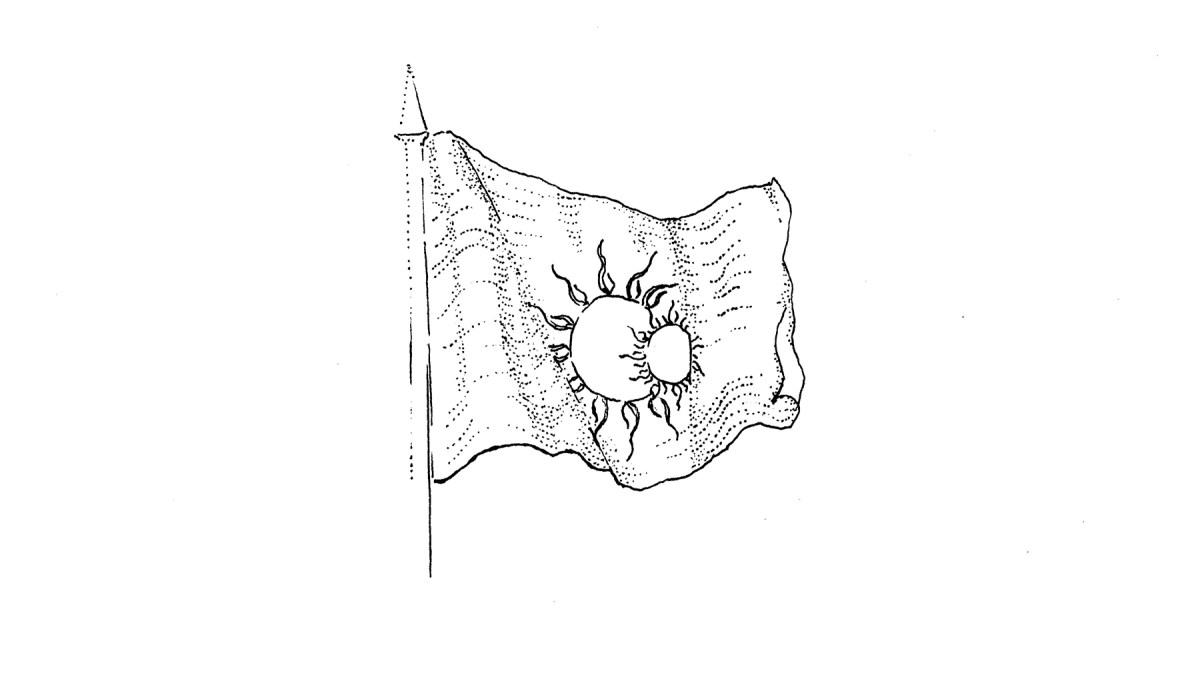 Twin Sun Flag
