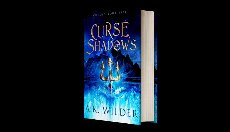 Curse of Shadows Book #2 in the Amassia Series by AK Wilder