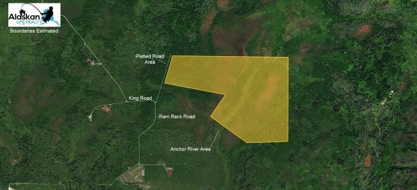 157 acres of land for sale in Alaska