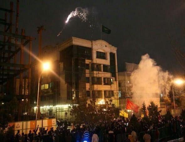اقتحام السفارة السعودية في طهران
