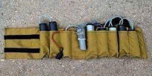 حزام اناسف احد منفذي تفجير معمل غاز التاجي العراقي