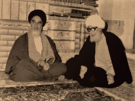 اجتماع الخاقاني والخميني حول مطالب الشعب العربي الأحوازي عام 1979