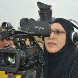 نورة عبد الكريم او هناء خرسان اعلامية احوازية