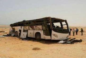 حركة التحرير الوطني الأحوازي تستنكر جريمة المنيا