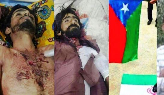 جرائم ايران في بلوشستان المحتلة