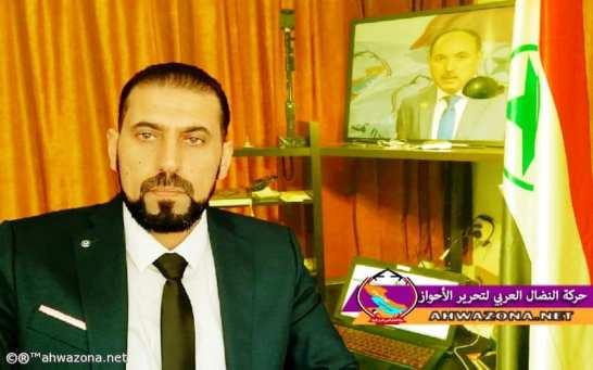 حاتم صدام - رئيس حركة النضال العربي لتحرير الأحواز