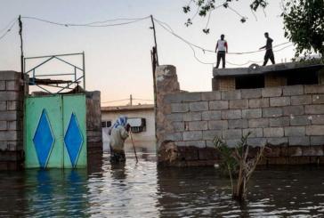 الأحواز المحتلة تشهد فيضانات مدبرة مدمرة مرتين في عام 2019