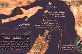 حركة التحرير الوطني الأحوازي تندد بالقرصنة الايرانية و احتجاز ناقلة النفط البريطانية