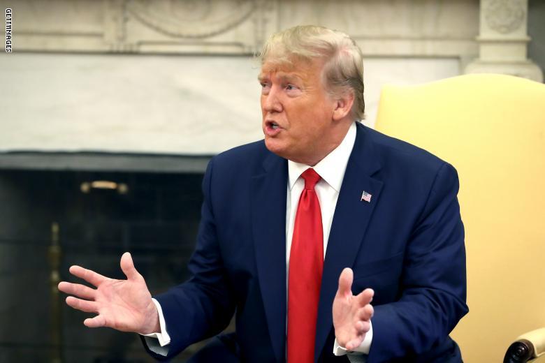 ترامب : الحرب هي الخيار النهائي في التعامل مع إيران