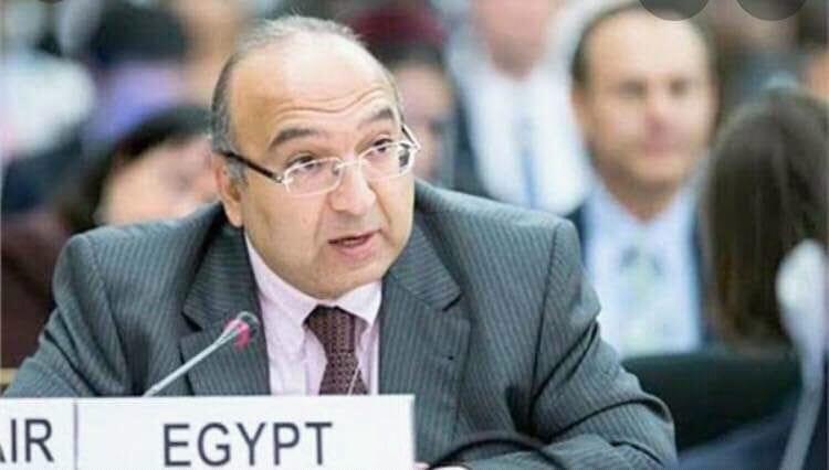 السفير المصري في النرويج السيد عمرو رمضان
