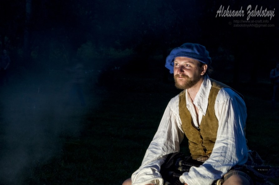портрет чоловіка, портрет шотландця