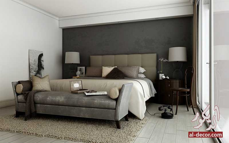 إستخدام ال Accent Wall في ديكورات غرف نوم