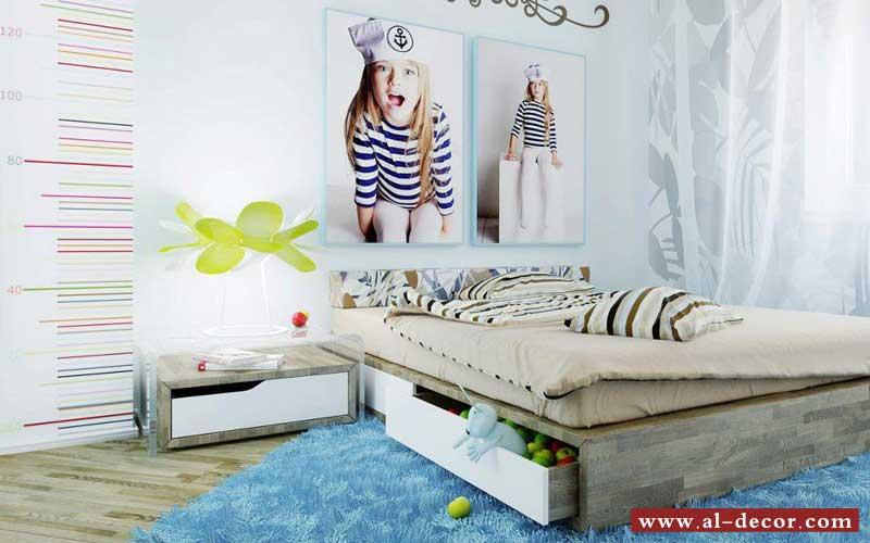 يمكن الإستفادة من المساحة الهائلة الموجودة أسفل السرير