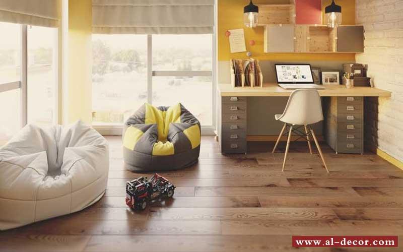 الخشب و الفينيل من أفضل الأرضيات لغرف الاطفال