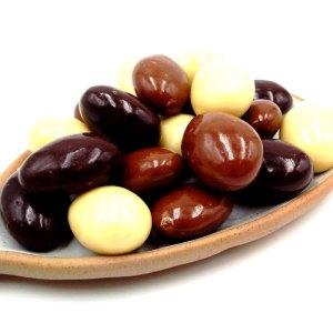 Bombón mix almendras con chocolate