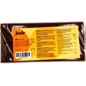 Tableta Chocolate con leche 200gr. 38,8% cacao.