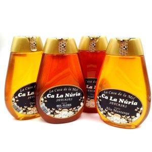 Miel envase plástico antigoteo 360gr. Ca la Nuria