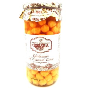 Garbanzo al natural Tarro cristal 660 gr. Rosara