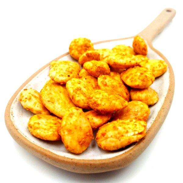 Almendra marcona frita con curry