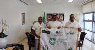 """السفارة السعودية في الأردن تستقبل فريق """"الرحالة السعودية"""""""