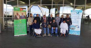 قافلة معتمريين أردنيين على نفقة سفير خادم الحرمين الشريفين لدى الأردن