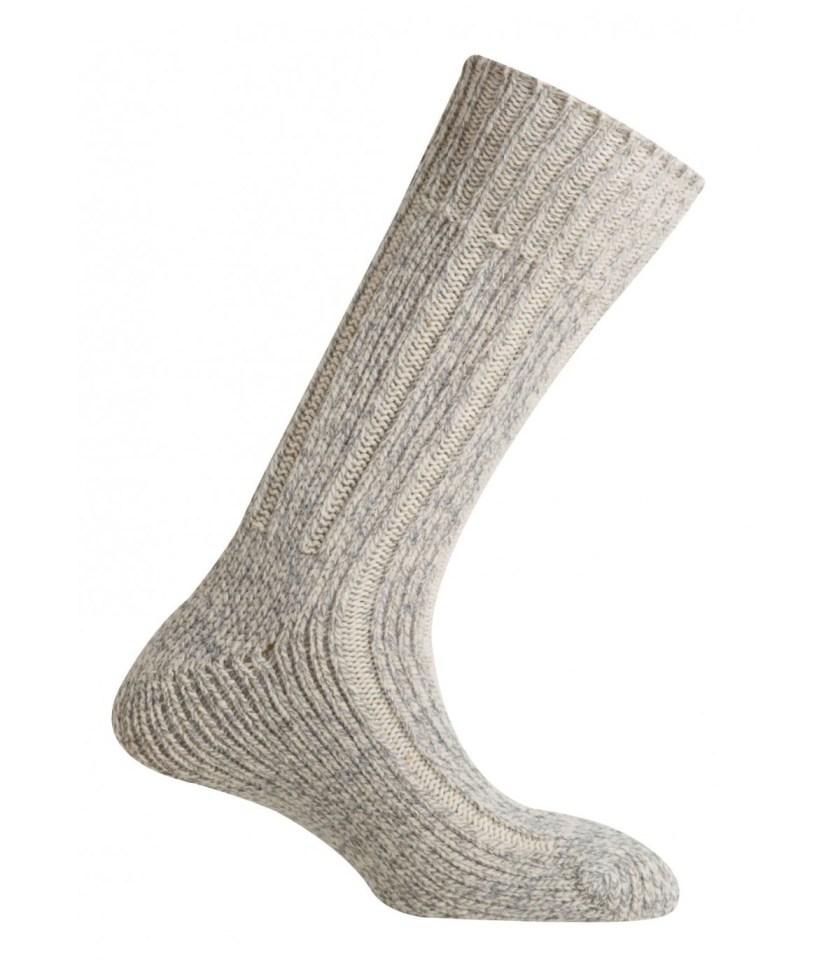 MUND LEGNED - Classic sock of Lana Marino wool
