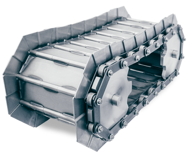 Tapis métallique convoyeur