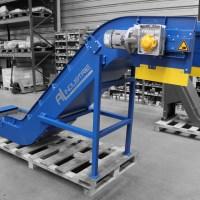 Convoyeur de pièces machine MECAL ATLAS MC304