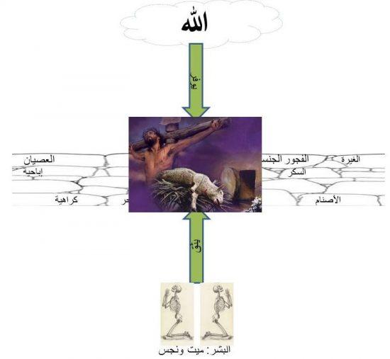 ذبيحة عيسى المسيح – حَمَلَ الله – قُدِّمت بالموت علاجاً للخطية نيابة عنا كما فعل خروف إبراهيم.