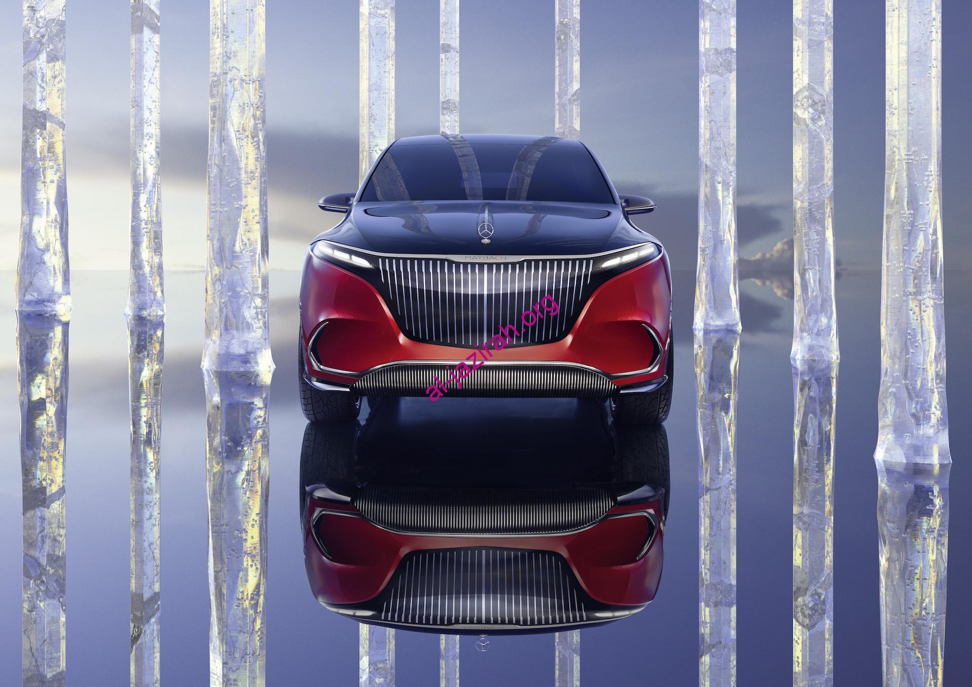 أنافة مرسيدس- EQS SUV سيارة كهربائية فائقة الفخامة